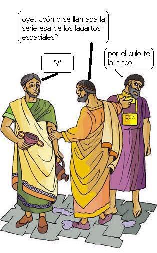 V es 5 en números romanos.