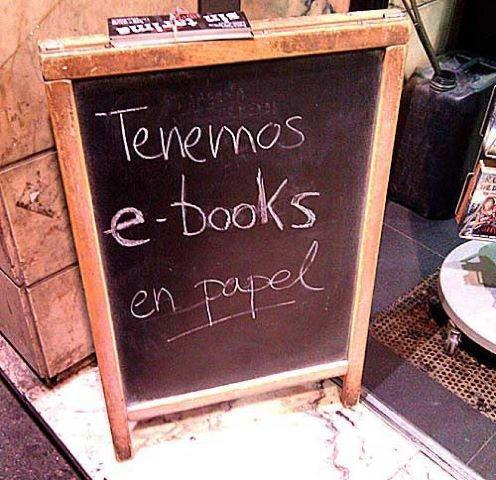 e books en papel