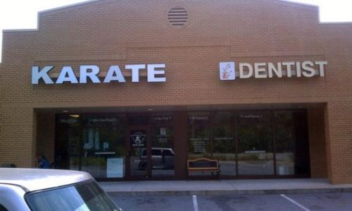 karate dentist