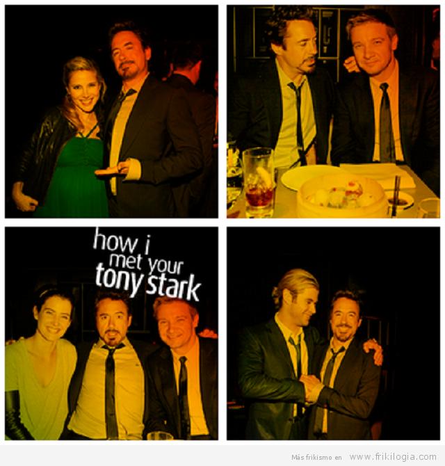 como conoci a tony Stark