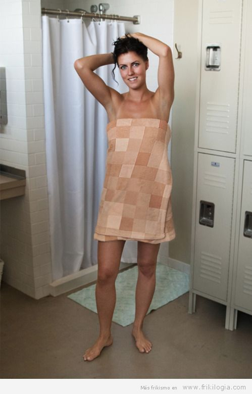 toalla pixelada
