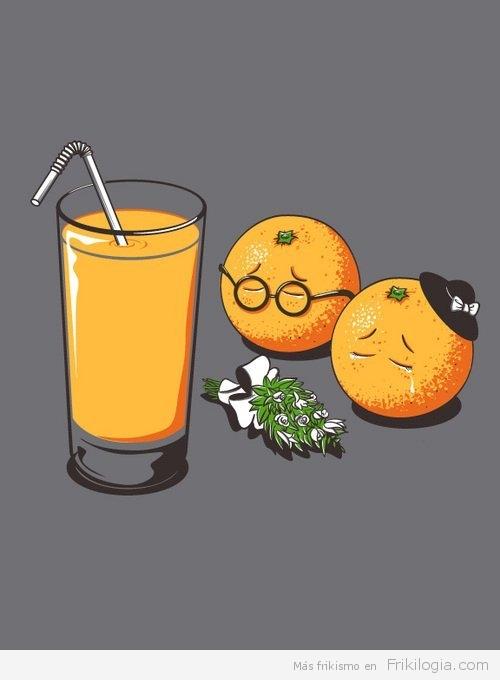 funeral naranja