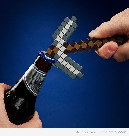 Abre Botellas Minecraft.