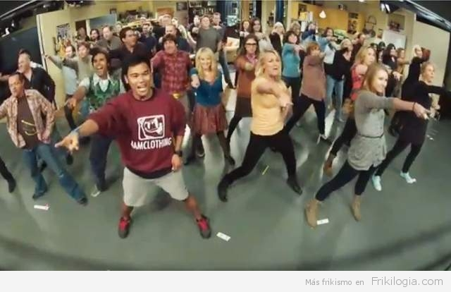 video-flashmob