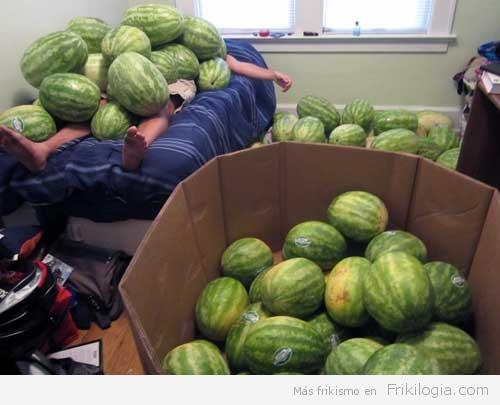 Sandias watermelon everywere