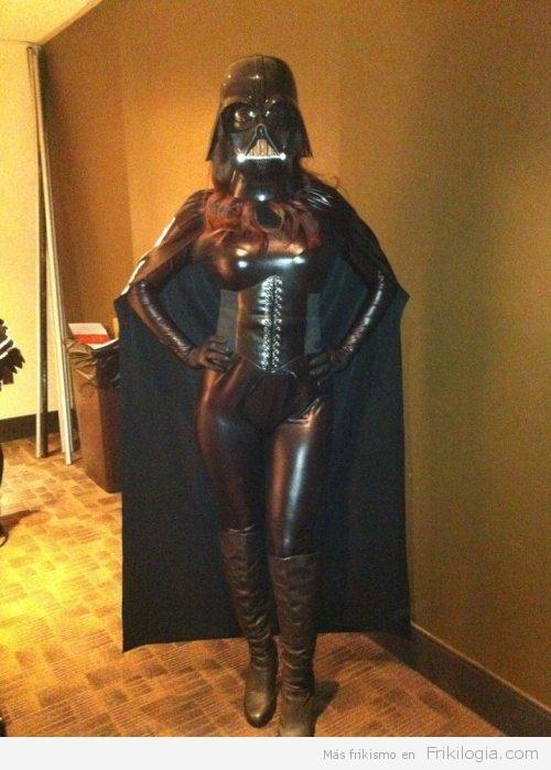 Dark Vader Cosplay woman