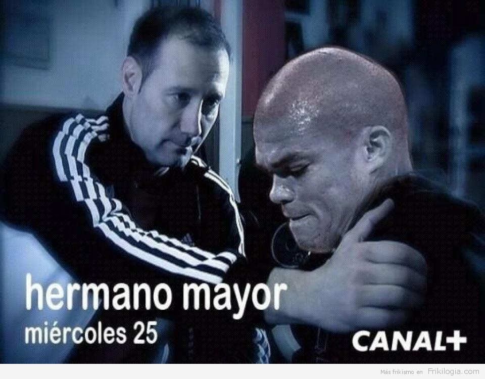 Hermano mayor visita a Pepe