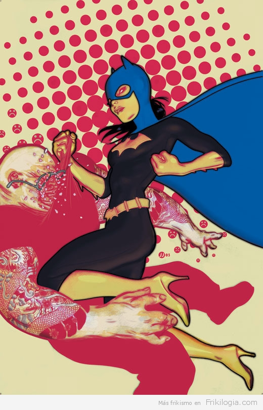 batgirl de James jean