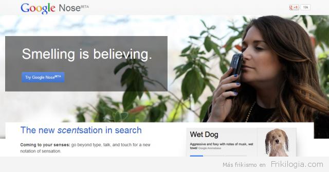 Broma de google nose