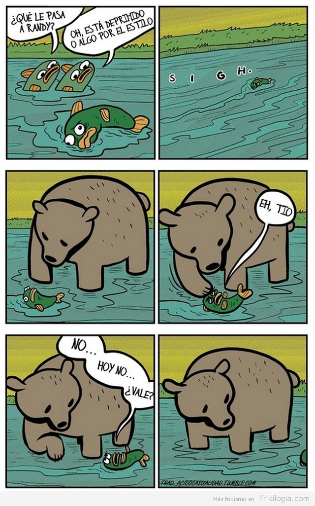 Randy el pez deprimido