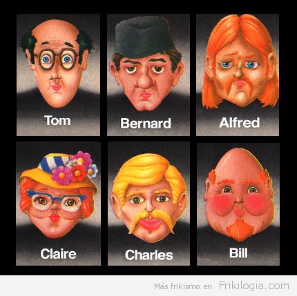 Personajes Del Quién Es Quién Caracterizados Frikilogía