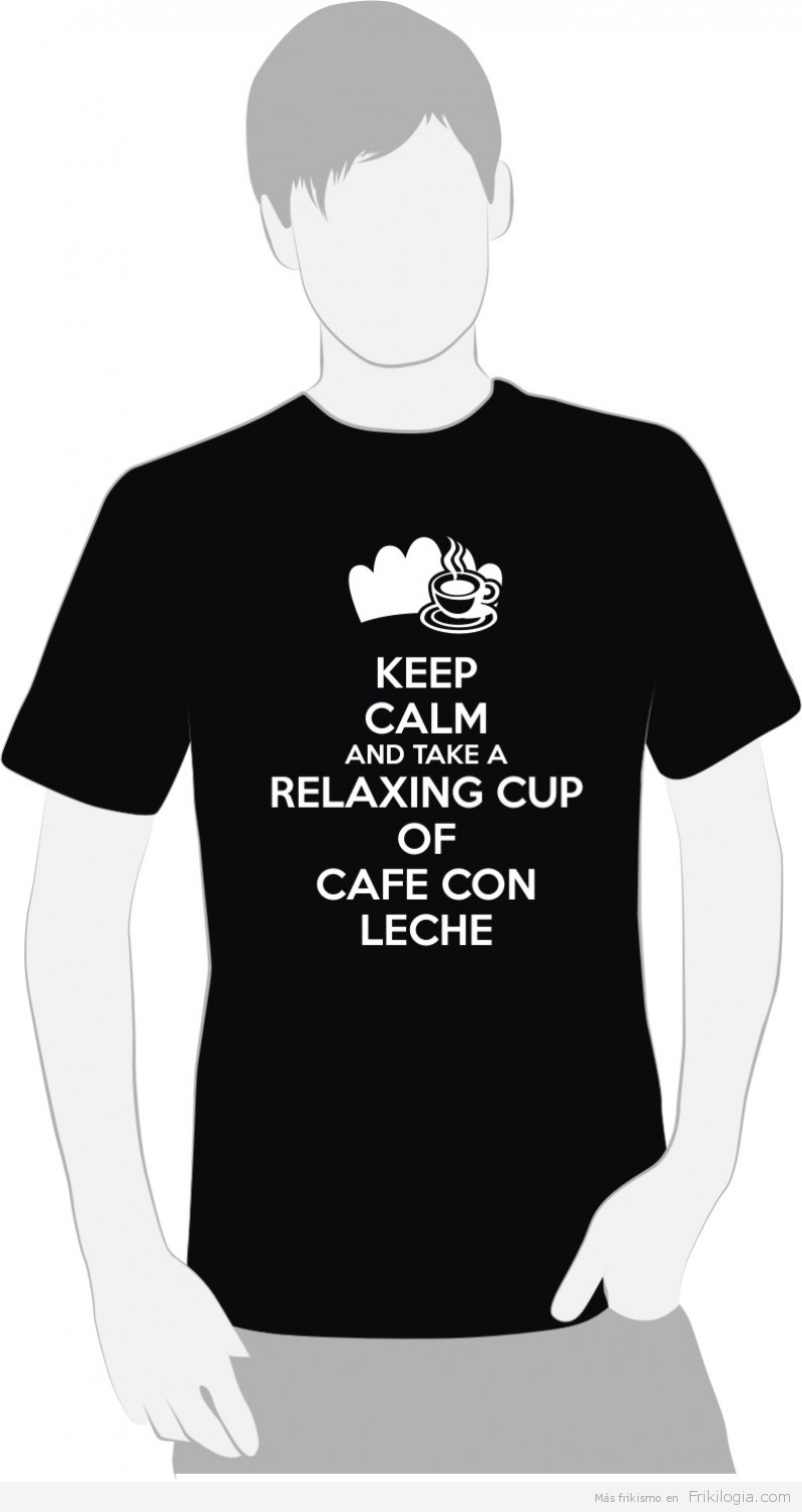 "Keep Calm And Take a Relaxing Cup of CAFE CON LECHE ""MADRID 2020"" ""El Perro Encendido ®"""
