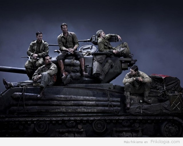 Fury  poster tanque