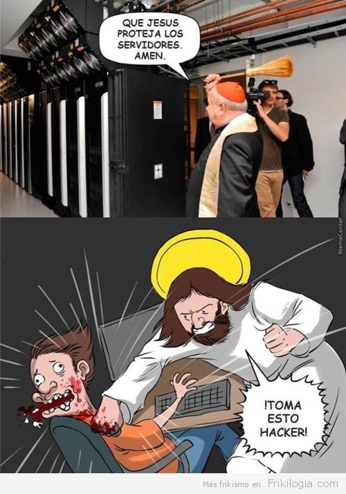 God protect servers