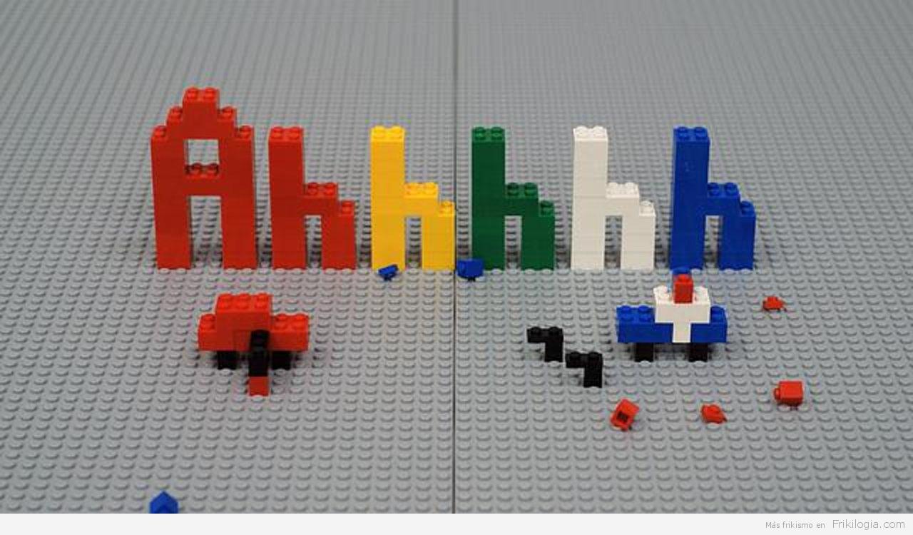 Ahhhhh, Corto en StopMotion con Lego