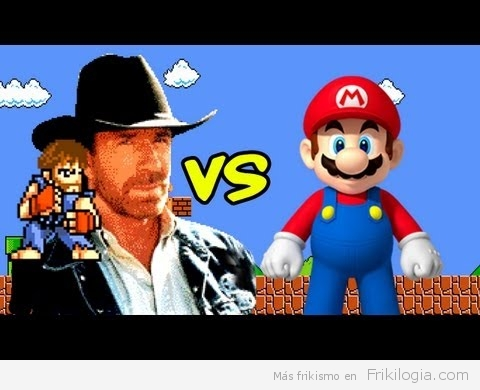 Chuck Norris 8-bits: Mario Bross