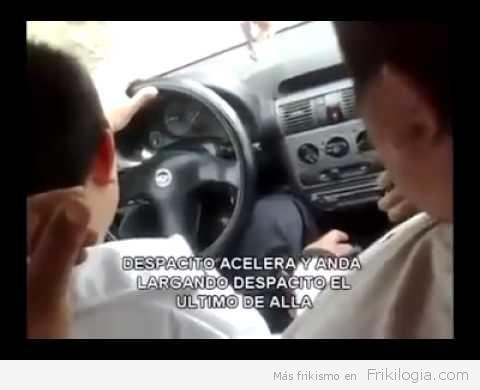 Como enseñar a tu hijo a conducir…