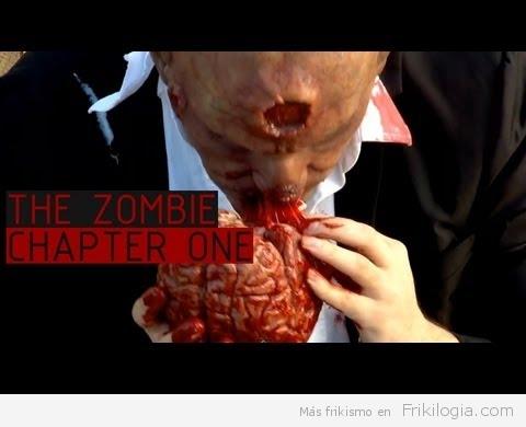 ¿Como reaccionarias si te encontraras un zombie en la calle?