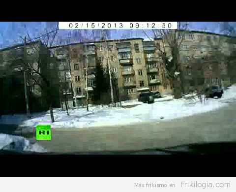 Derribado meteorito a 20km de altura cuando se dirigía a ciudades rusas.