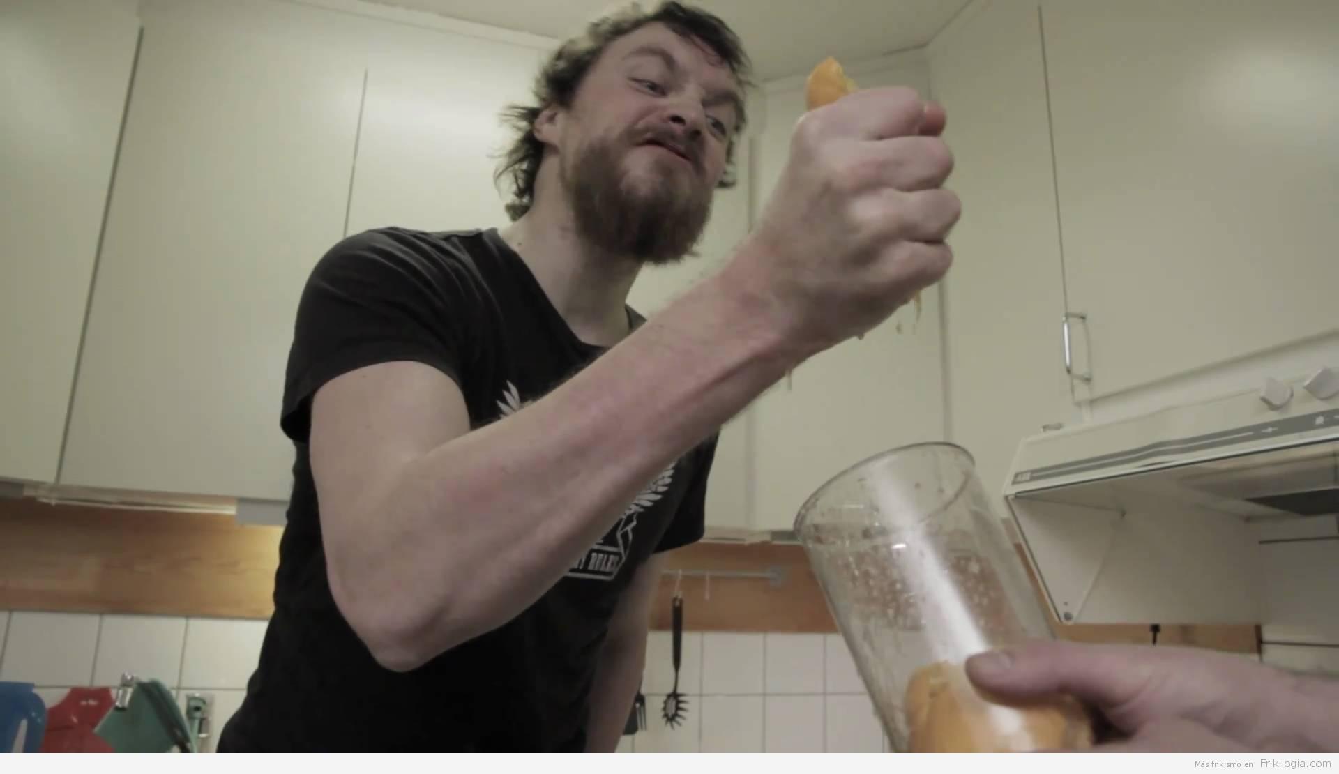 Desayuno del sueco normal