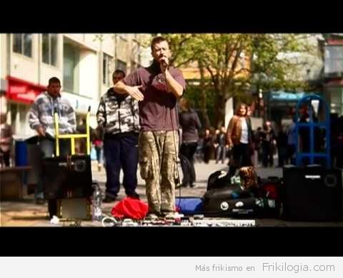 Dub Fx, Voz autosampleada, para crear una canción en directo