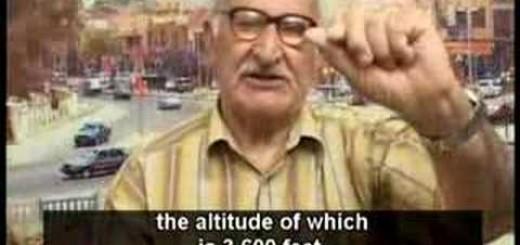 En iraq ,debaten si la tierra es plana ,en la television via SATELITE