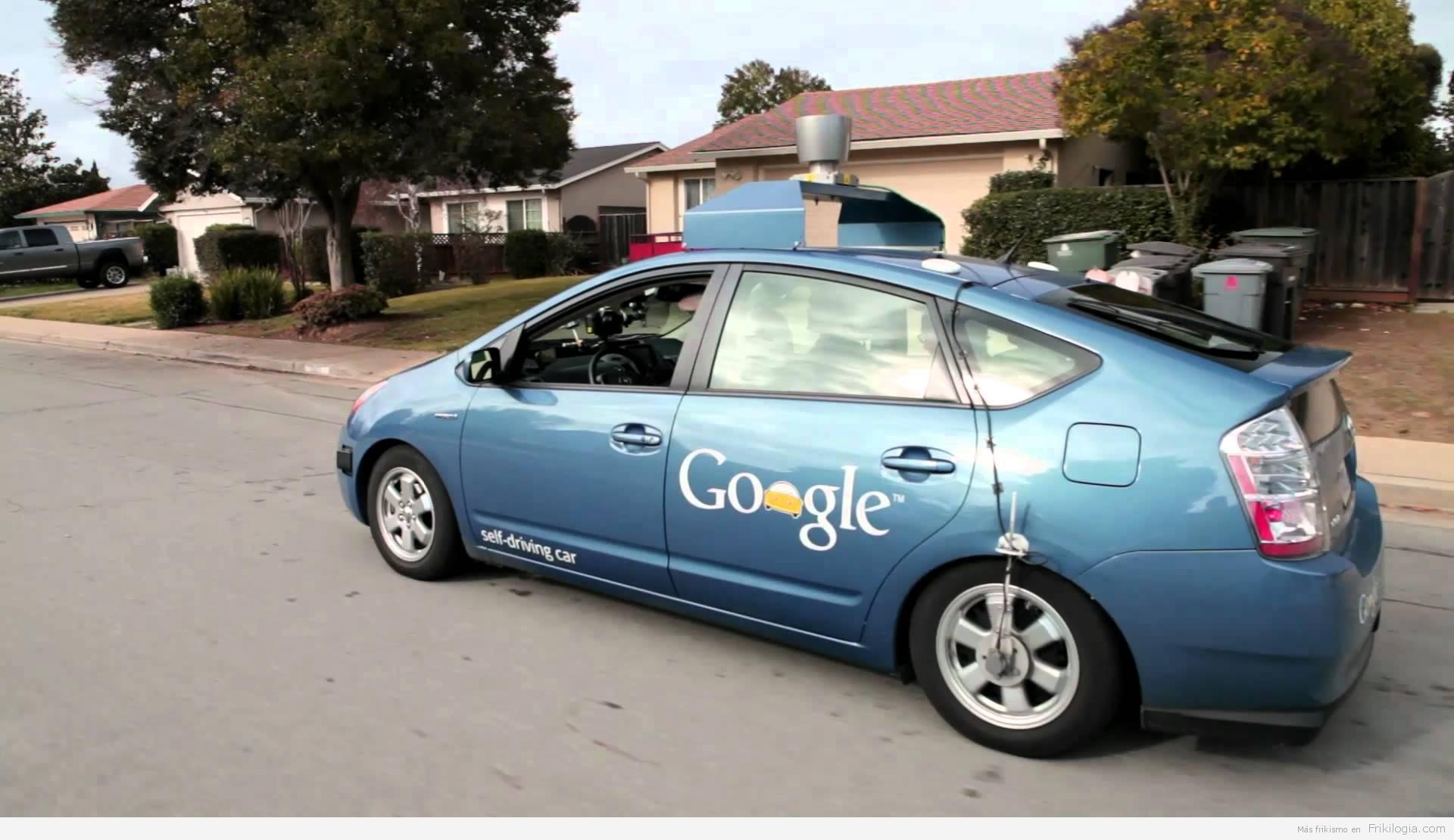 Google y su coche 100% automático