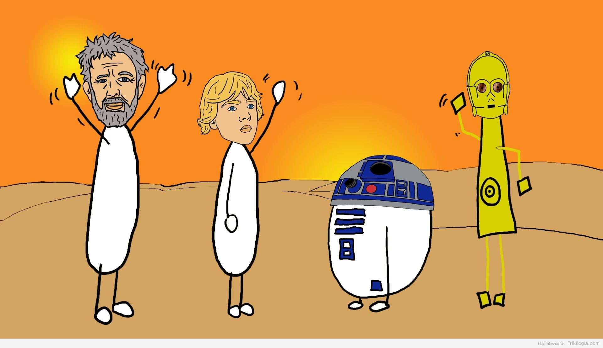 Japonesa Mika explica claramente Star Wars