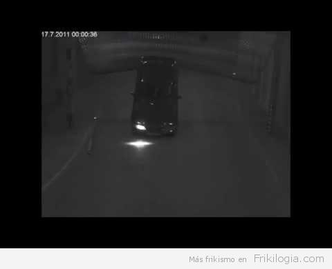 Llevando los accidentes en los parking a un nuevo nivel
