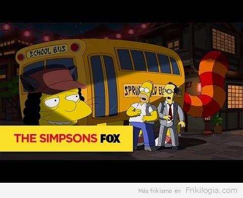 Los Simpsons hacen Tributo a Hayao Miyazaki y al Studio Ghibli Animation