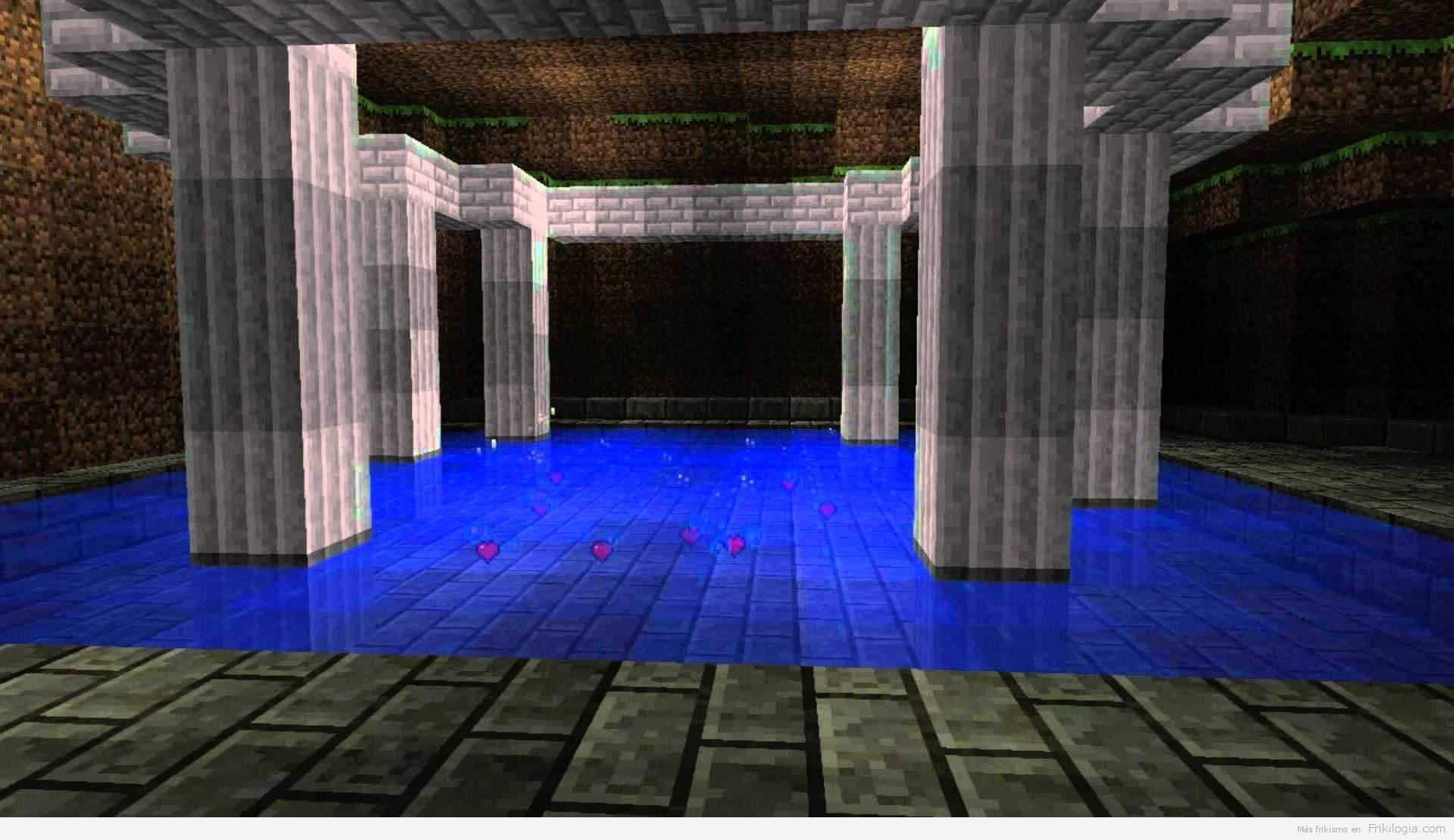 Minecraft + Zelda