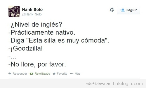 nivel de ingles nativo