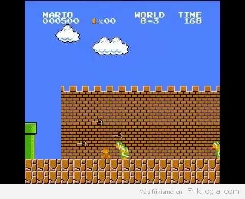 Nuevo record, Super Mario Bros con el menor puntaje posible, sin morir ni una vez.