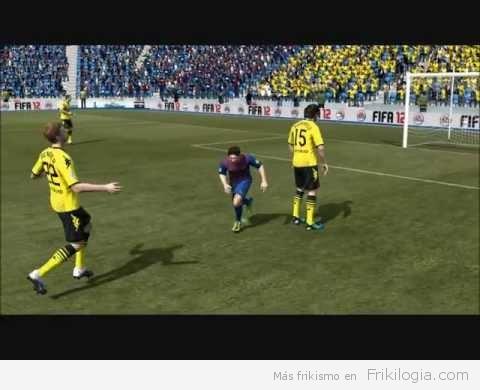Parece divertido el nuevo motor de impactos de FIFA 12