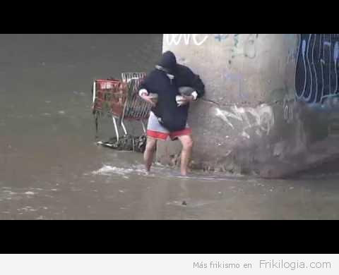 Pescando a Pedradas