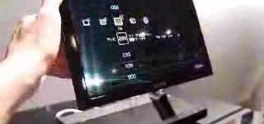 Televisores cada vez más pequeños