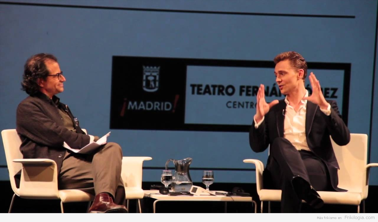 Tom Hiddleston, Loki de los Vengadores, en Madrid