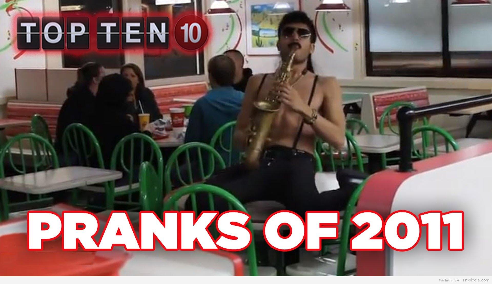 Top 10 de mejores bromas del 2011