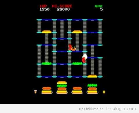 Video graciosisimo de un clasico de los 80, el Burgertime