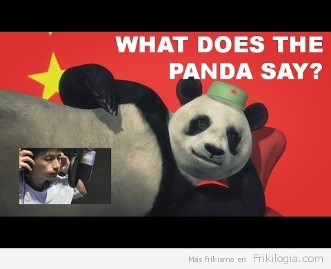 What Does The Panda Say? Una animación Taiwanesa Parodiando el What Does The Fox Say?