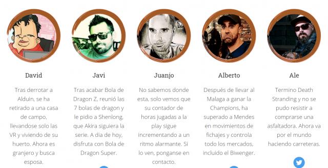 Miembros de Factoria Gamer